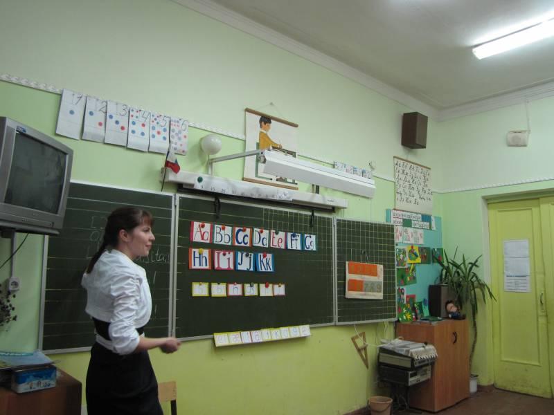 Урок английского языка нач  кл